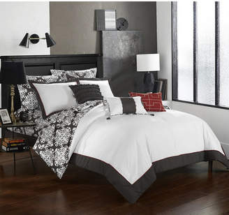 Chic Home Tania 10-Pc King Comforter Set Bedding