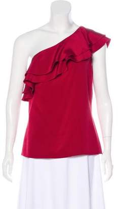 Michael Kors Silk One-Shoulder Top w/ Tags