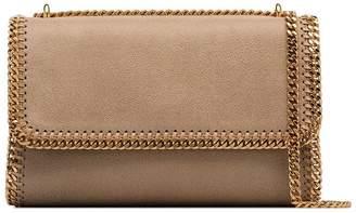 Stella McCartney brown Falabella gold chain shoulder bag