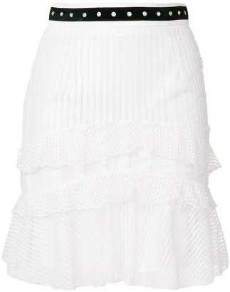 Just Cavalli layered skirt