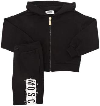 Moschino Safety Pin Logo Sweatshirt & Sweatpants