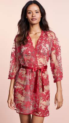 Cosabella Rosie Velvet Trimmed Robe