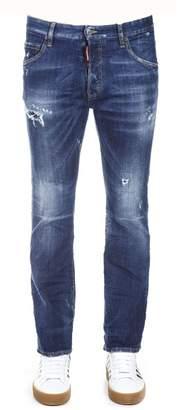 DSQUARED2 Denim Boot-cuts Cotton Jeans