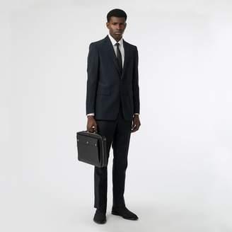 Burberry Classic Fit Mohair Linen Silk Tailored Jacket