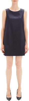 Theory Chintz Cotton Sleeveless Sheath Dress