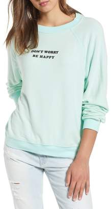 Wildfox Couture Be Happy Sweatshirt