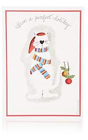 Constance Kay Christmas Cat Holiday Card