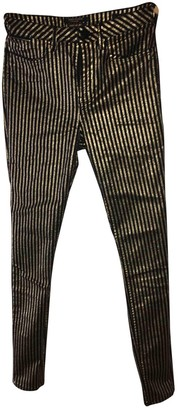 Maison Scotch Gold Trousers for Women