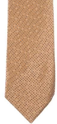 Charvet Dot Jacquard Silk Tie