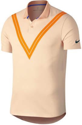Nike Men's Court Zonal Cooling Roger Federer Tennis Polo