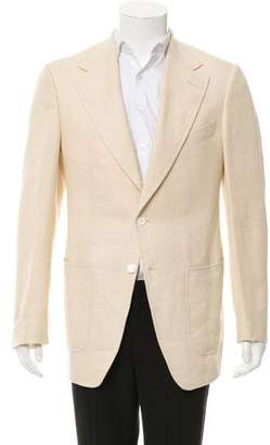 Tom Ford Mulberry Silk-Blend Blazer