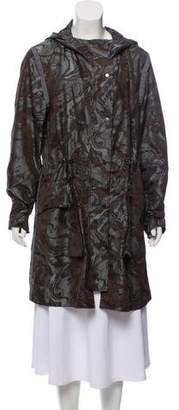 Christopher Raeburn Printed Knee-Length Coat