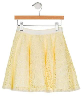 0b363299a Ermanno Scervino Girls' Lace Skirt