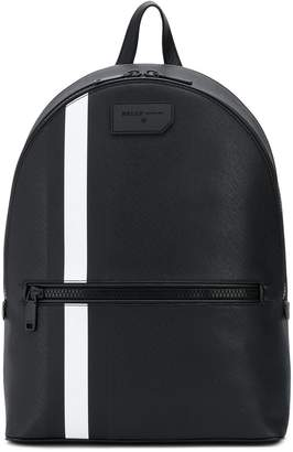 Bally striped backpack