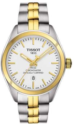 Tissot Women's PR 100 Bracelet Watch, 33mm