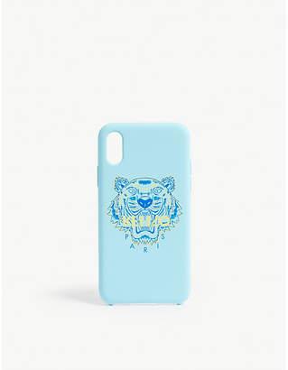 Kenzo Tiger logo silicone iPhone X case