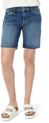 Joe's Jeans The Seven Raw Hem Denim Bermuda Shorts