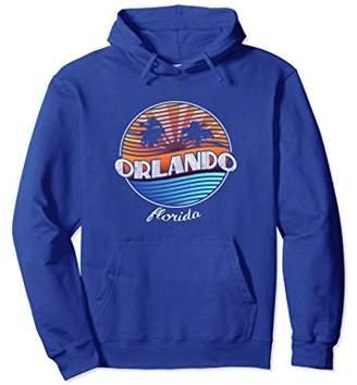 Retro Orlando Florida Hoodie - Vintage 80s Summer Shirt