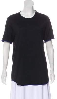 Rag & Bone Short Sleeve Asymmetrical T-Shirt