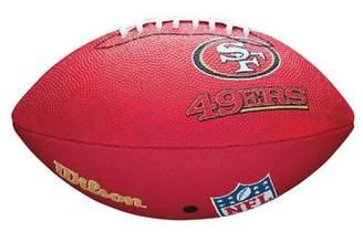 Wilson NFL San Francisco 49ers Junior Team Football