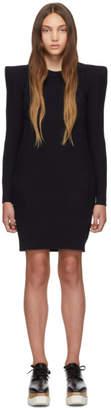 Stella McCartney Navy Wide Shoulder Dress