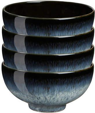 Denby Set of Four Halo Rice Bowls