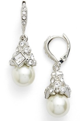 Women's Givenchy Imitation Pearl Drop Earrings $48 thestylecure.com