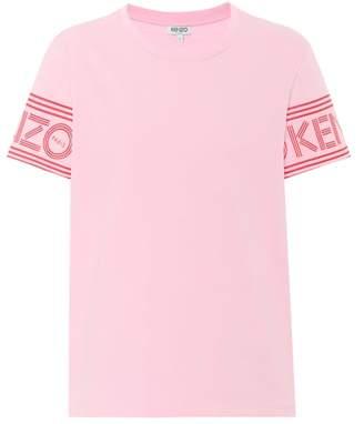 Kenzo Logo-sleeve cotton T-shirt