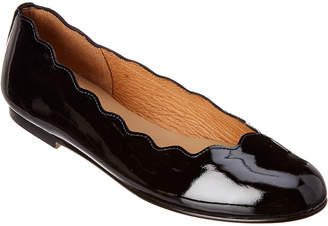 French Sole Razor Patent Flat