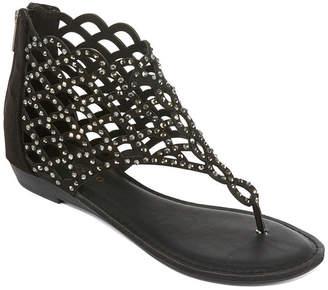 ZIGO SOHO Zigo Soho Womens Mariane Slingback Strap Flat Sandals