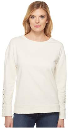 Joe's Jeans Miaya Lace-Up Pullover Women's Clothing