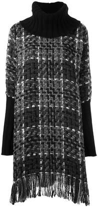 Dolce & Gabbana checked knitted tunic