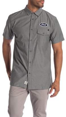 Lost Jobless Short Sleeve Modern Fit Shirt