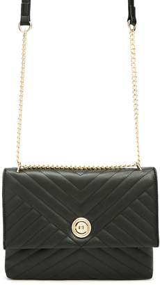 Forever 21 Chain-Strap Quilted Crossbody