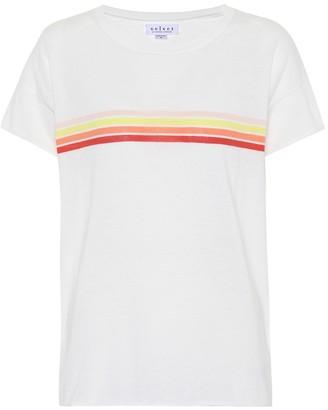 Velvet Lex striped cotton T-shirt