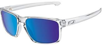 Oakley Men's Sliver OO9262-06 Iridium Rectangular Sunglasses