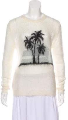 Saint Laurent Knit Crew Neck Sweater