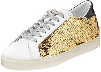 D.A.T.E Hill Low Paillettes Sneakers