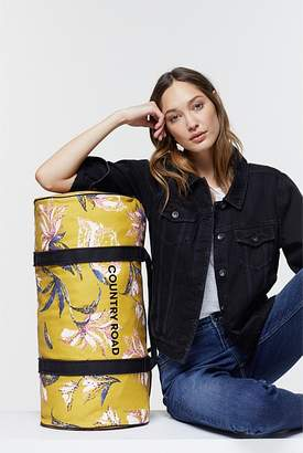 Country Road Floral Logo Tote