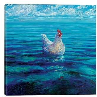 iCanvas Chicken of the Sea by Iris Scott Giclee Print Canvas Art