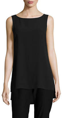 Eileen Fisher System Silk Long Shell Top