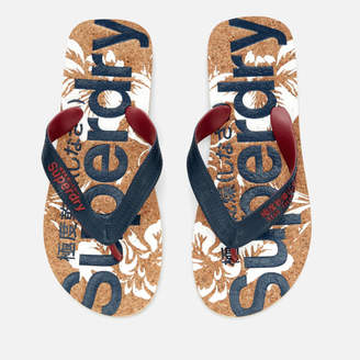 Superdry Men's Printed Cork Flip Flops