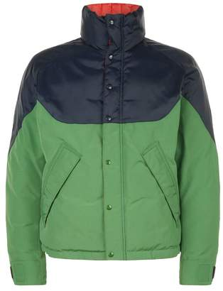 Burberry Colour Block Reversible Down Jacket