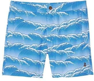 Banana Republic retromarine | Yoshino Japanese Waves Printed Swim Short