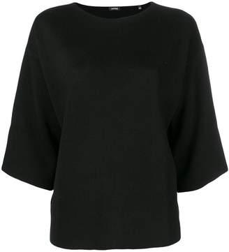 Aspesi drop shoulder knitted top