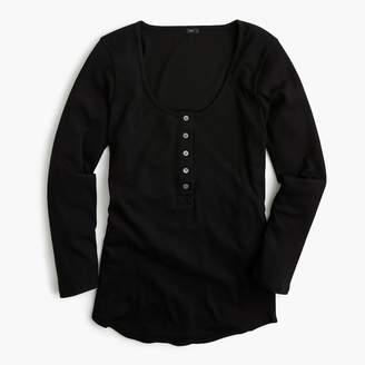J.Crew Scoopneck henley shirt