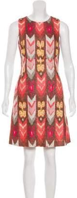 Tory Burch Ikat Sleeveless Dress