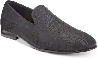 Tallia Men's Enrico Embossed Satin Smoking Slippers Men's Shoes