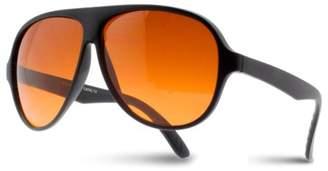 Shark Eyes INC Blue Block Aviator Sunglasses