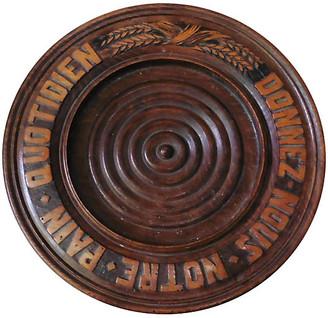 One Kings Lane Vintage French Wood Bread Platter - majolicadream